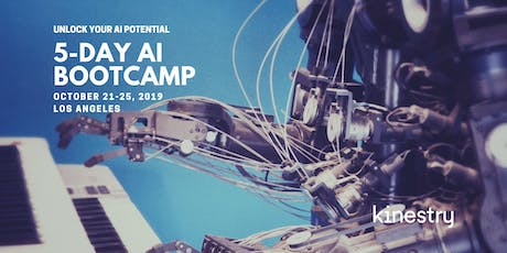 Kinestry's 5-Day AI Bootcamp tickets