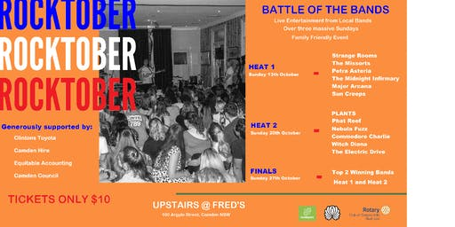 Rocktober - Battle of the Bands - HEAT 1