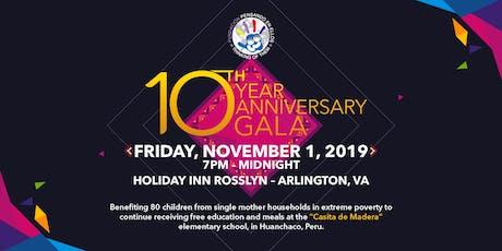 10-Year Anniversary Gala - Pensando en Ellos Peruvian Foundation tickets