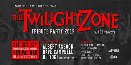 Twilight Zone Tribute Party 2019 w/ CD Giveaways tickets