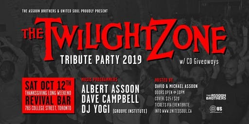 Twilight Zone Tribute Party 2019 w/ CD Giveaways