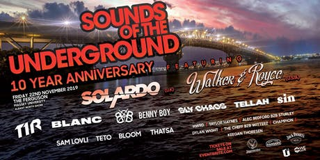 Sounds Of The Underground tickets