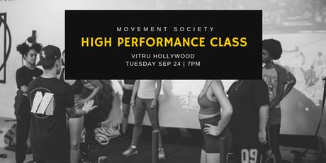 High Performance Group Class tickets
