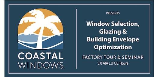 Window Selection, Glazing & Building Envelope Optimization