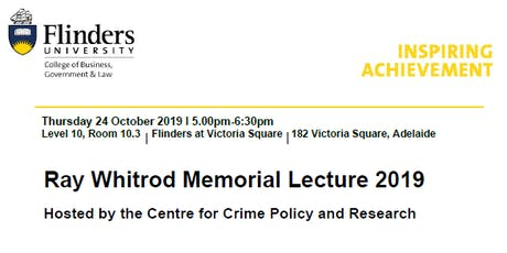 Ray Whitrod Memorial Lecture 2019 tickets