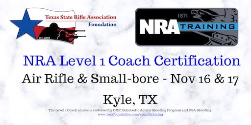 NRA Level 1 Coach - RIFLE