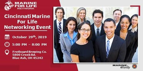 Cincinnati Marine For Life Networking Event tickets