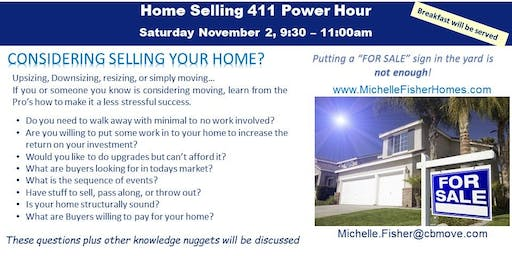 Home Selling 411 Power Hour