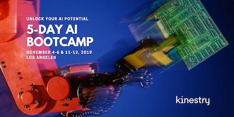 Kinestry's 5-Day AI Bootcamp - November 4-6  & 11-12 tickets