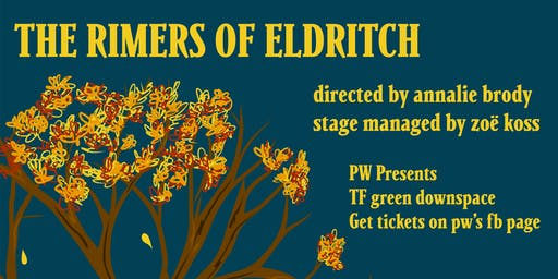 PW Presents: The Rimers of Eldritch
