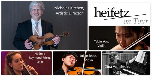 """Heifetz On Tour """"Welcome Home"""" Concert With the Wolfeboro Friends of Music"""