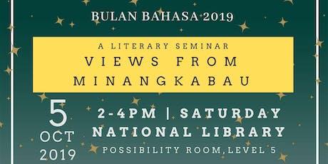 A Literary Seminar - Views from Minangkabau tickets