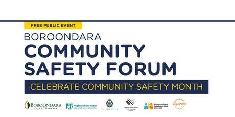 City of Boroondara Community Safety Forum  tickets