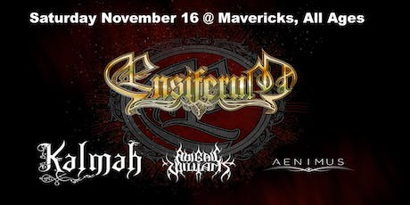 Ensiferum, Kalmah, Abigail Williams, Aenimus tickets