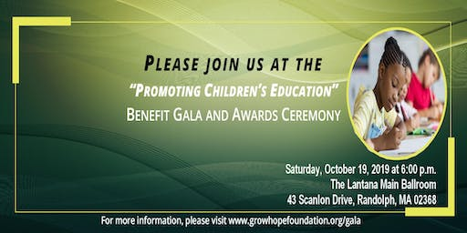 Promoting Children's Education Benefit Gala