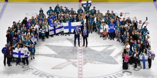 4th San Jose Sharks Finnish Heritage Night