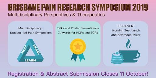 Brisbane Pain Research Symposium 2019