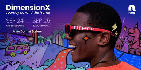 DimensionX: Journey Beyond the Frame tickets