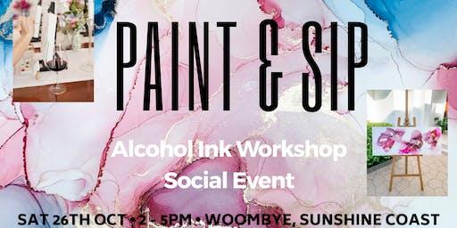 Paint & Sip Social Event