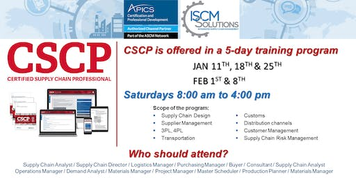 CSCP - Certified Supply Chain Professional