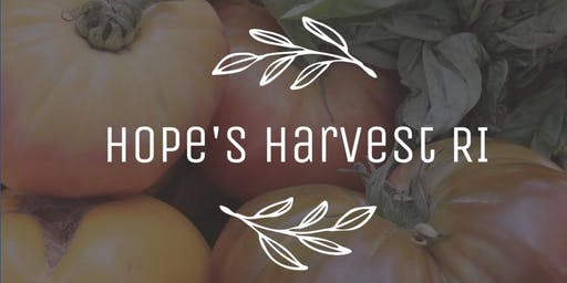 Tomato Gleaning Trip with Hope's Harvest - Tuesday 9/24/19 - 9-11AM