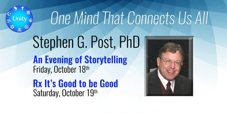 Dr. Steven Post — One Mind Connects Us All tickets
