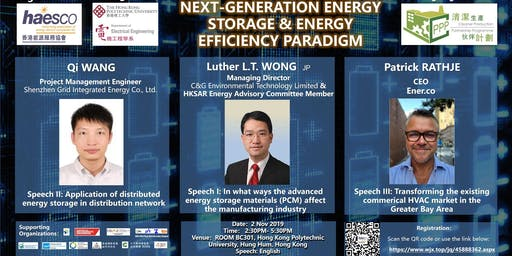 NEXT-GENERATION ENERGY STORAGE & ENERGY EFFICIENCY PARADIGM