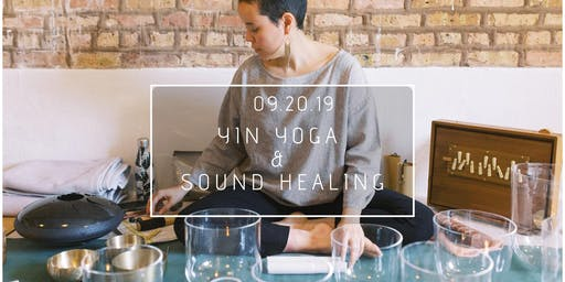Yin Yoga & Sound Healing