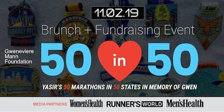 Gwen Mann Foundation 50in50 Finale Brunch & Fundraiser tickets