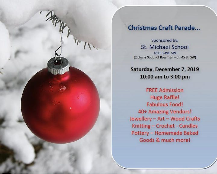 Christmas Crafts 2019.Christmas Craft Parade Sponsored By St Michael School