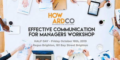 Effective Communication for Managers Workshop  tickets