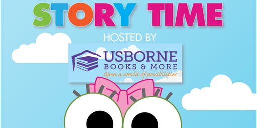 Story Time at sweetFrog Catonsville with Sara from Usborne books