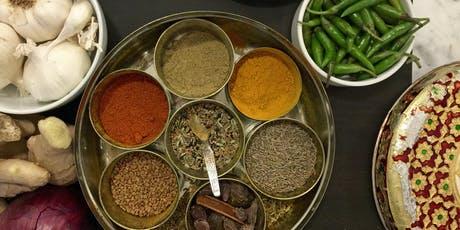 Indian Street Food Cooking Class tickets