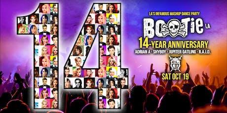 Bootie LA: 14-Year Anniversary Party tickets