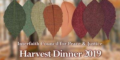 2019 ICPJ Harvest Dinner ~ Ticket & Program Advertisement Purchase