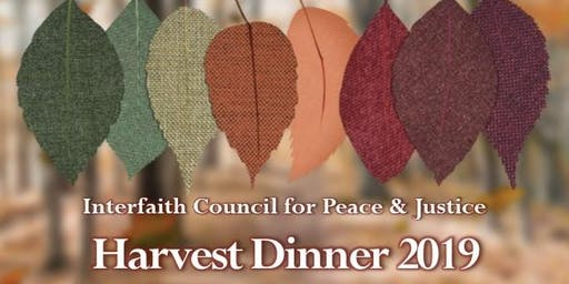 2019 ICPJ Harvest Dinner ~ Ticket & Program Advertisement Purchase