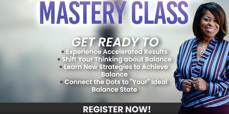 #1 Masterclass on Balancing tickets