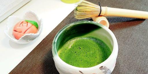 Atelier de Chanoyu traditionnel & Wagashi