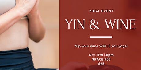 Yin & Wine tickets