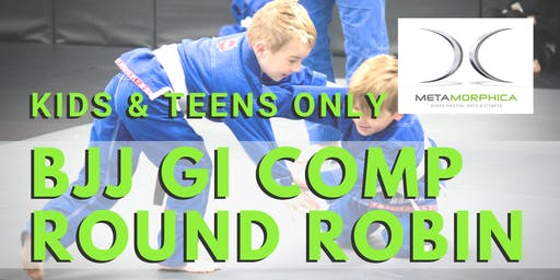 Kids & Teens Only BJJ Gi Grappling Round Robin Nov 16th 2019