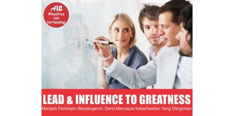 Public Training Lead & Influence to Greatness tickets