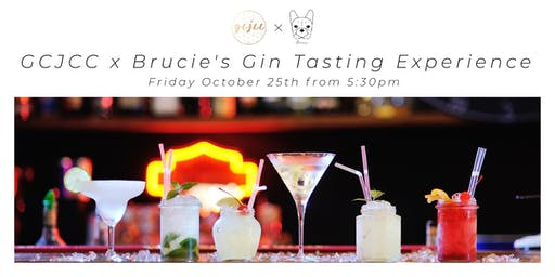 GCJCC x Brucie's Gin Tasting Experience