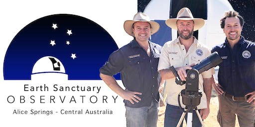 Alice Springs Astronomy Tours. November Tuesday 26th / Highlights: Dark Sky, Milky Way - 3 Planets