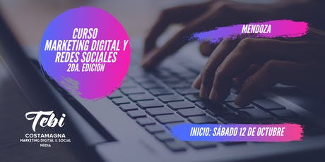 Curso Marketing Digital y Redes Sociales entradas
