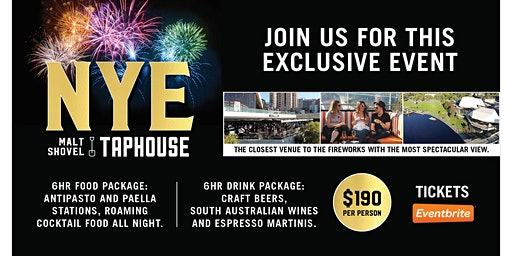 New Years Eve at Malt Shovel Taphouse