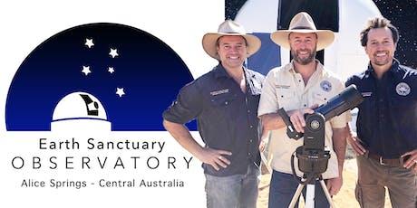 Alice Springs Astronomy Tours. November Thursday 28th / Highlights: New Moon, Dark Sky, Milky Way - 3 Planets tickets