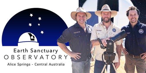 Alice Springs Astronomy Tours. November Friday 29th / Highlights: Waxing Crescent Moon, Dark Sky, Milky Way - 3 Planets