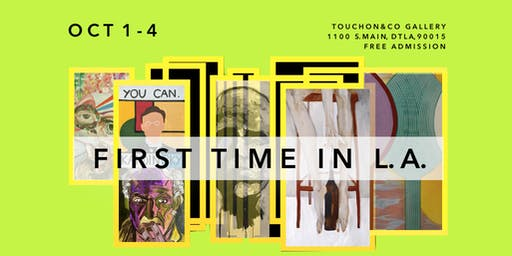 Group Art Exhibition | First Time in L.A.