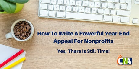 How To Write A Powerful Year-End Appeal For Nonprofits tickets