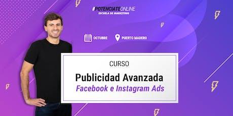 Curso de Marketing Digital para Facebook e Instagram Ads entradas